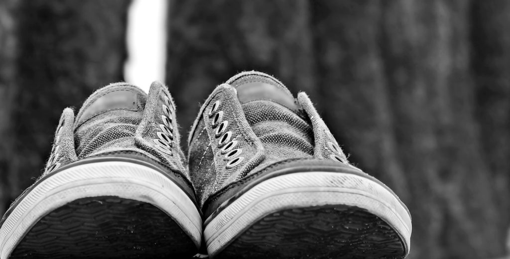 germs on the bottom of your shoes